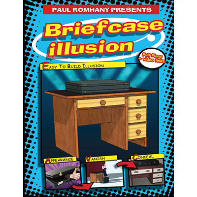 The Briefcase Illusion - Paul Romhany - Libro de Magia