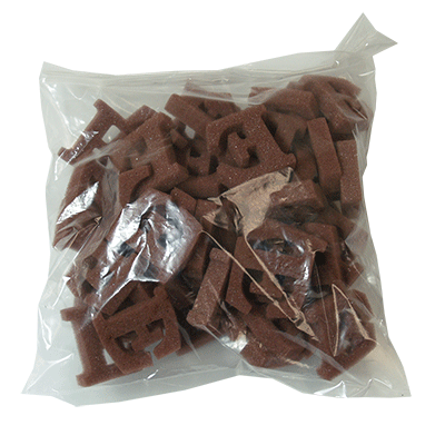 Brown E's (50 piece)