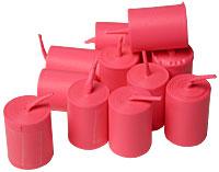 Bubble Gum Coils (Pink)