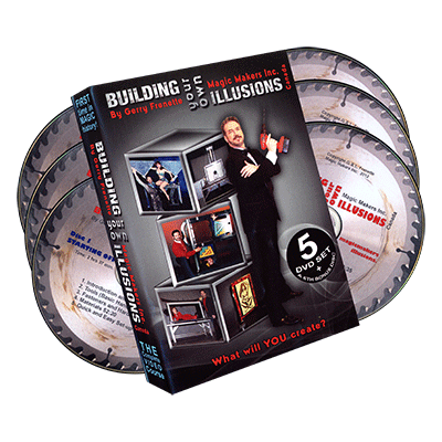 Building Your Own Illusions, The Complete Video Course - Gerry Frenette (6 DVD Set)- DVD