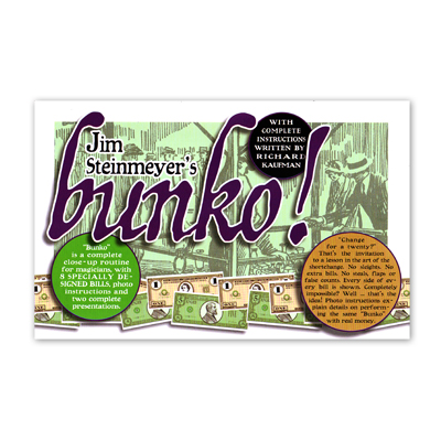Bunko! - Jim Steinmeyer