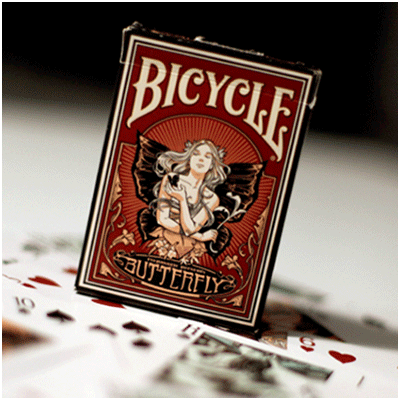 Butterfly Bicycle Deck by US Playing Card - Trick