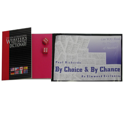 By Choice & By Chance by Paul Richards and Elmwood Magic - Trick