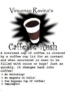 Caffeine Rush booklet Ravina