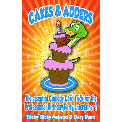Cakes and Adders (DVD and Gimmicks Parlor Size) by Gary Dunn and World Magic Shop - DVD