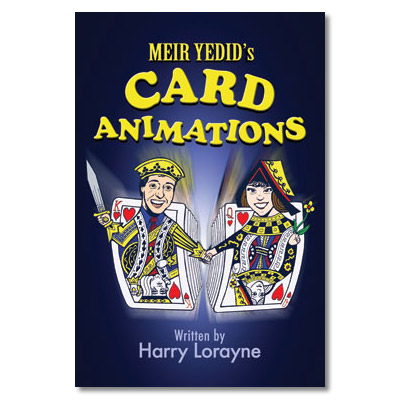Meir Yedid's Card Animations by Harry Lorayne - Book