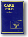 Card File book