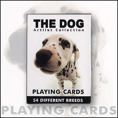 Cards Dogs - (12 Deck is 1 unit) by USPCC - Trick