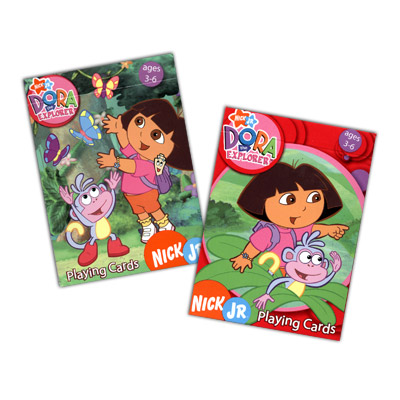 Cards Dora the Explorer - 12 PACK (Mixed)