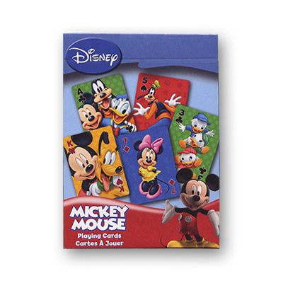 Mickey Mouse Disney Playing Cards (6 PACK) - Trick