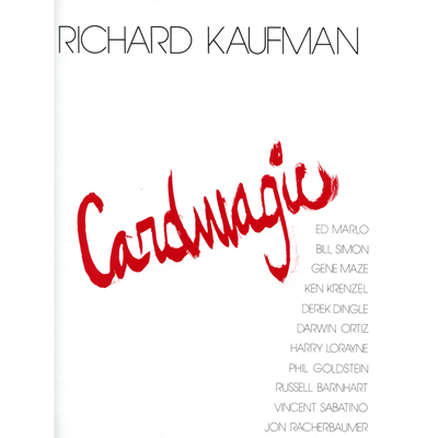 Card Magic - Richard Kaufman - Libro de Magia