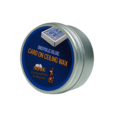 Card on Ceiling Wax 50g (blue) by David Bonsall - Trick