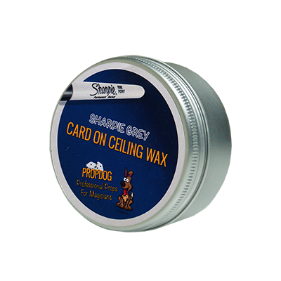 Card on Ceiling Wax 50g (Sharpie Grey) by David Bonsall and PropDog - Trick