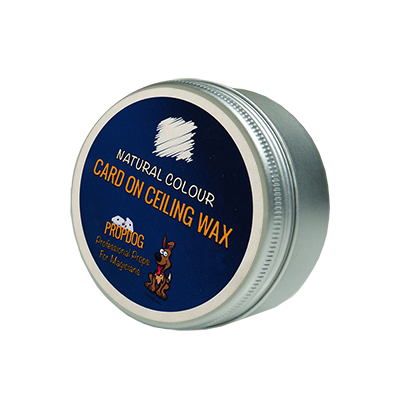 Card on Ceiling Wax 15g (Natural) by David Bonsall - Trick