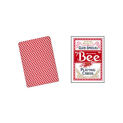 Cards Bee Poker size (Red)
