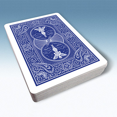Bicycle Playing Cards 809 Mandolin Back (Blue) by USPCC - Trick