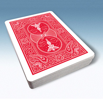 Bicycle Playing Cards 809 Mandolin Back (Red) by USPCC - Trick