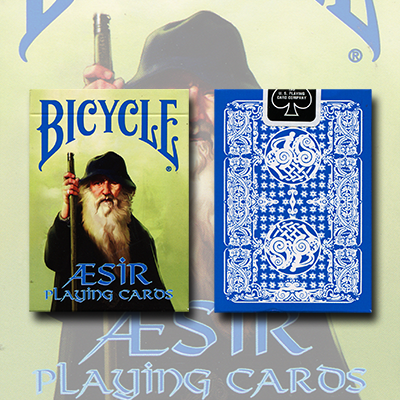 Bicycle Blue AEsir Viking Gods Deck (Blue) by US Playing Card Co. - Trick