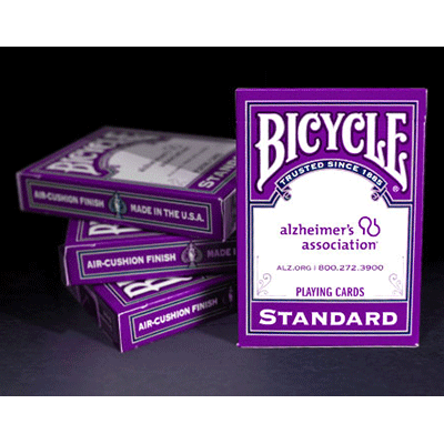 Bicycle Alzheimer's Association Cards by USPCC - Trick