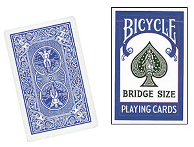 Cards Bicycle Bridge (Blue)