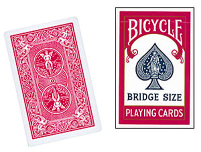 Cards Bicycle Bridge (Red)