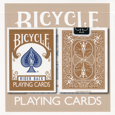 Bicycle Brown Cards by USPCC - Trick