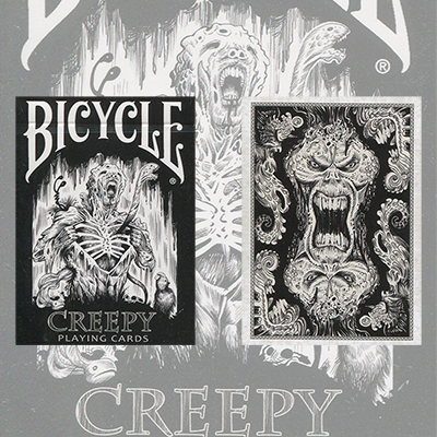 Bicycle Creepy Deck by Collectable Playing Cards - Trick