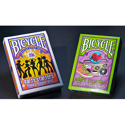 Bicycle Decades Cards (70's and 80's) 6 pack by US Playing Cards - Trick