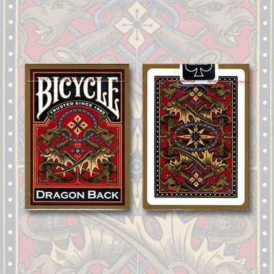 Bicycle Dragon Back Deck (Gold) - USPCC
