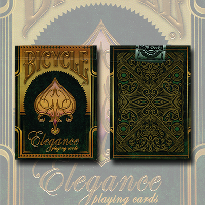 Bicycle Elegance Deck Emerald (Limited Edition) by Collectable Playing Cards - Trick