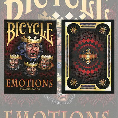 1st Run Bicycle Emotions Deck by US Playing Card Co. - Trick