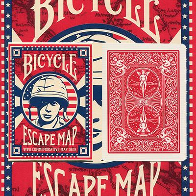 Cartas Bicycle Escape Map Deck - USPCC