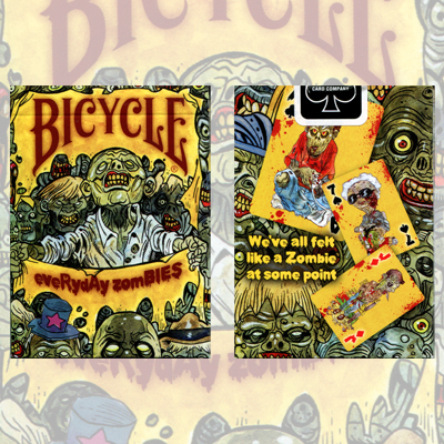Bicycle Everyday Zombie Deck by USPCC - Trick