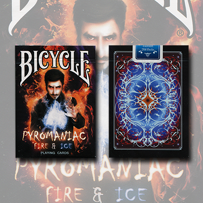 Bicycle Pyromaniac Fire and Ice (Limited Edition) Deck by Collectable Playing Cards - Trick