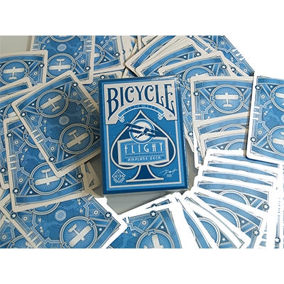 Bicycle Flight Deck (Blue) by US Playing Card - Trick