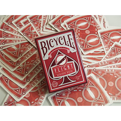 Bicycle Flight Deck (Red) by US Playing Card - Trick