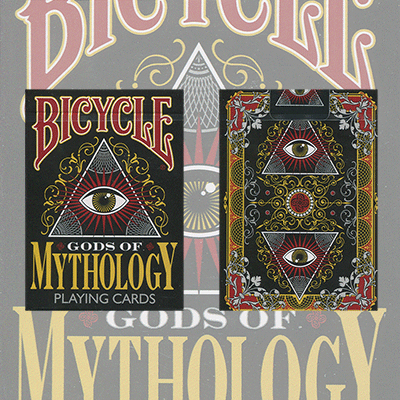Bicycle Gods of Mythology Deck (Out of Print) by Collectable Playing Cards - Trick