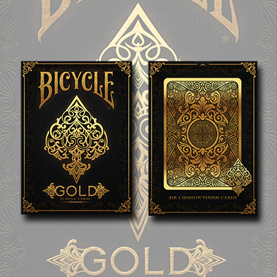 Cartas Bicycle - Gold Deck - US Playing Cards