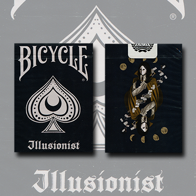 Bicycle Illusionist Deck Limited Edition (Dark) by LUX Playing Cards - Trick