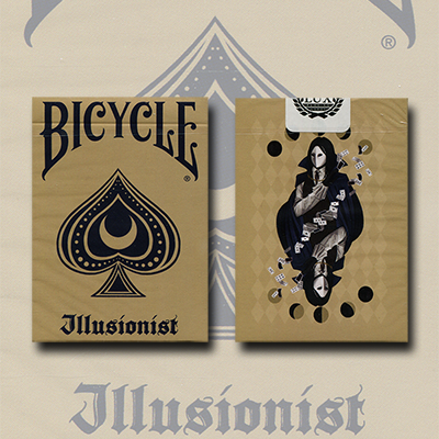 Bicycle Illusionist Deck Limited Edition (Light) by LUX Playing Cards - Trick