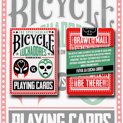 Bicycle Luchadores Deck by US Playing Card Co. - Trick