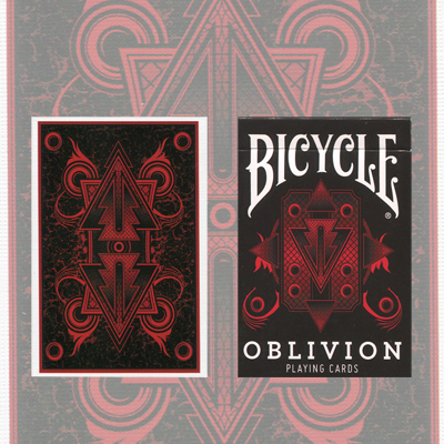 Bicycle Oblivion Deck (Red) by Collectable Playing Cards - Trick