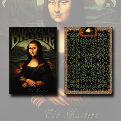 Bicycle Old Masters Playing Cards by Collectable Playing Cards - Trick