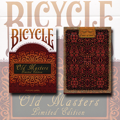 Bicycle Old Masters Playing Cards (Numbered Limited Edition Tuck and back card) by Collectable Playing Cards  - Trick