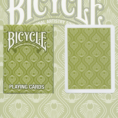Bicycle Peacock Deck (Green) by USPCC - Trick