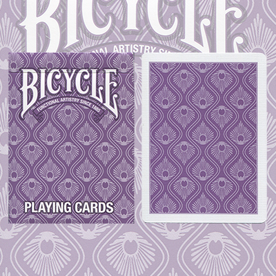 Bicycle Peacock Deck (Purple) by USPCC - Trick