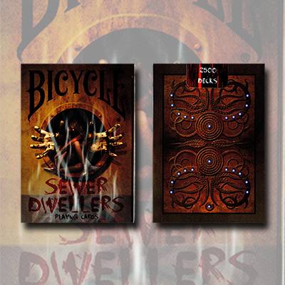 Bicycle Sewer Dwellers (Limited Edition) by Collectable Playing Cards - Trick