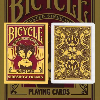 Bicycle Sideshow Freaks by USPCC - Trick