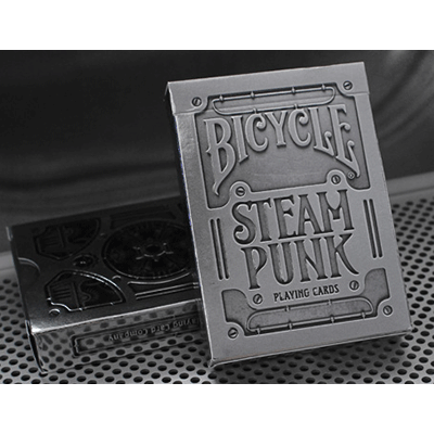 Cartas Bicycle - Silver Steampunk