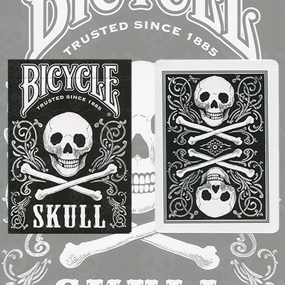 Bicycle Skull by USPCC - Trick